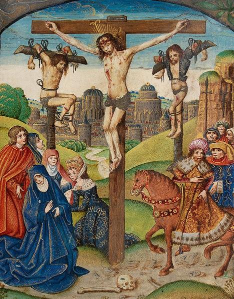 Crucifixion 6 Three Nails