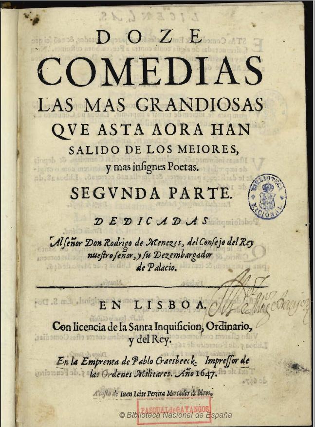 Doze Comedias