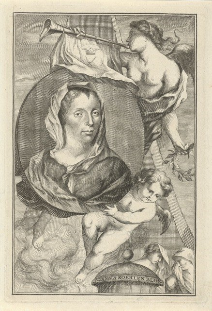 Fig 4 Houbraken Portrait of Koerten