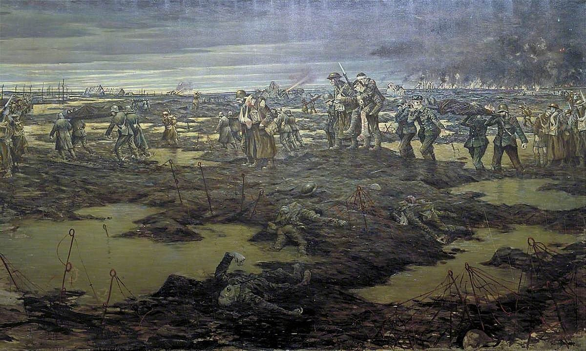 Image 4 Nevinson the Harvest of Battle