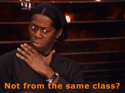 Not Same Class
