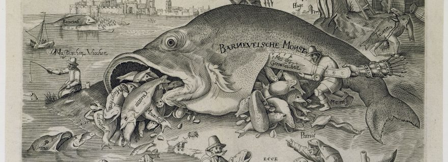 Oldenbarnevelt and Fishes: Satirical Prints from the 12-years Truce