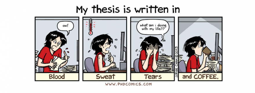 The Experiences of External PhDs – or, how to grapple research besides a paid job