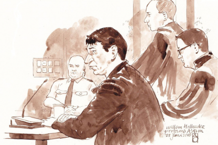 Close to the Skin: Courtroom Sketches