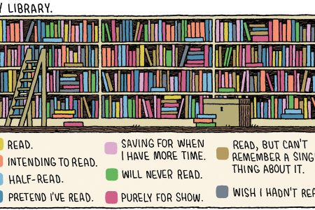 Fun, Fitness & Vanity: New Year's Resolutions on Fiction Reading