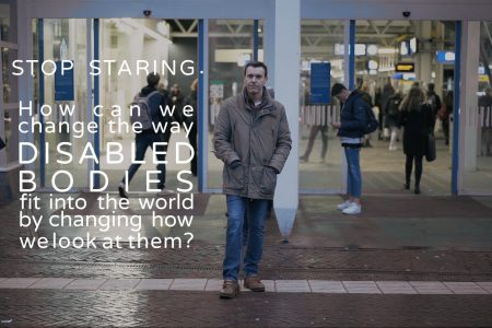 LUCAS Explains #8: Stop Staring. How can we change the way disabled bodies fit into the world by changing how we look at them?