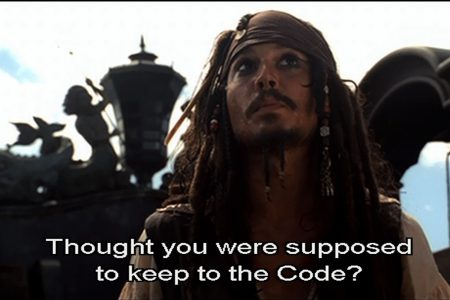 Keep to the Code: Lawless and Lawful Pirates of the Caribbean