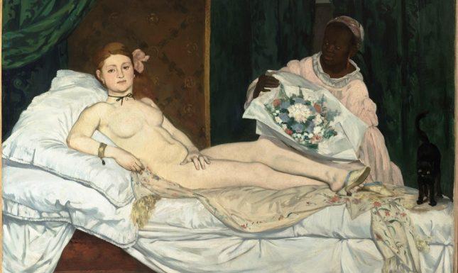 Édouard Manet Olympia Musée d Orsay Paris