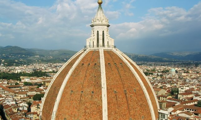 Afb 2 Cupola Brunelleschi by Saskia Scheele via wikimedia commons