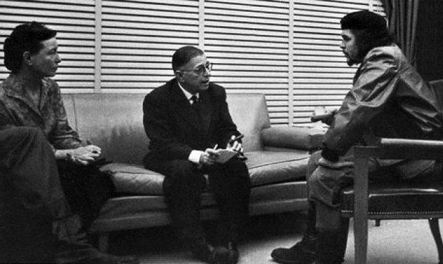 Beauvoir Sartre Che Guevara 1960 Cuba
