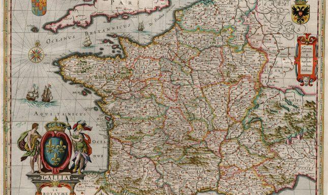 Blaeu 1649 Gallia Le Royaume de France