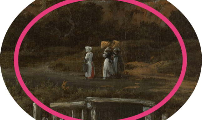 Fig 5 Ruisdael Windmill Detail