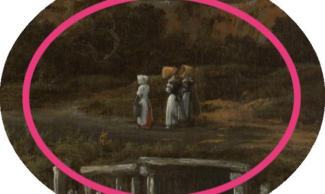 Fig 5 Ruisdael Windmill Detail
