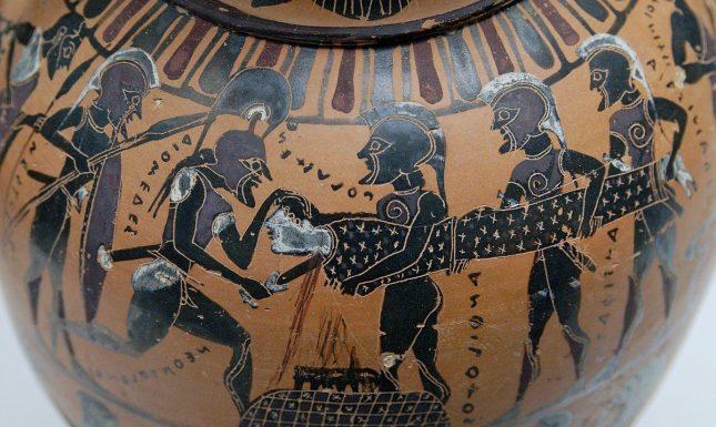 Image 1 Sacrifice of Polyxena