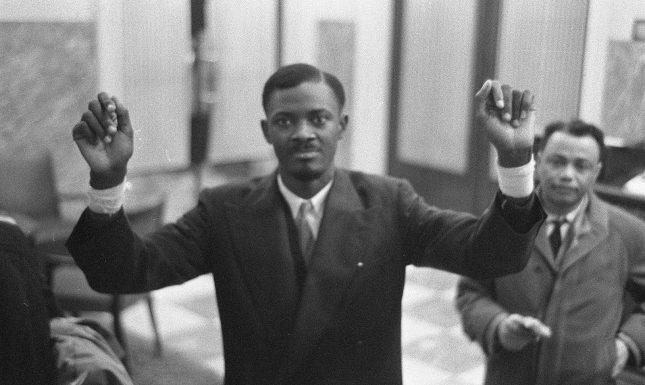 Lumumba Brussel1960