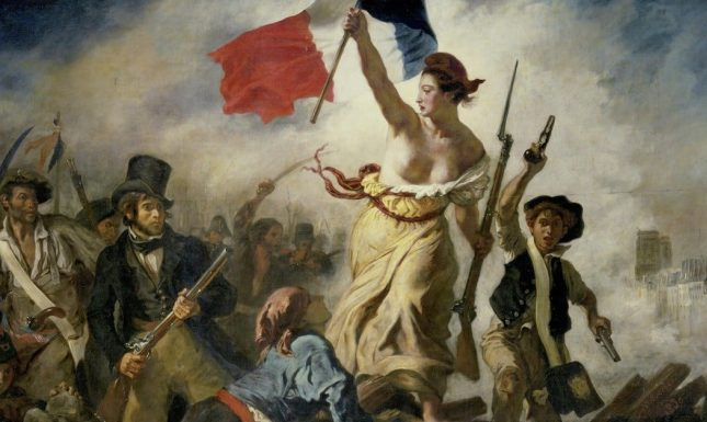 Eugene delacroix liberty leading the people thumbnail
