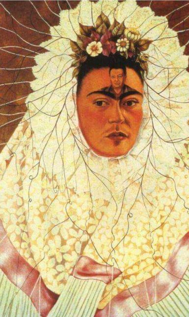 Self portrait as a tehuana