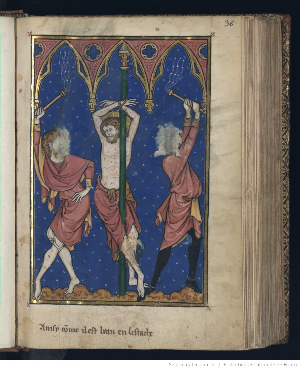 Flaggellation of christ