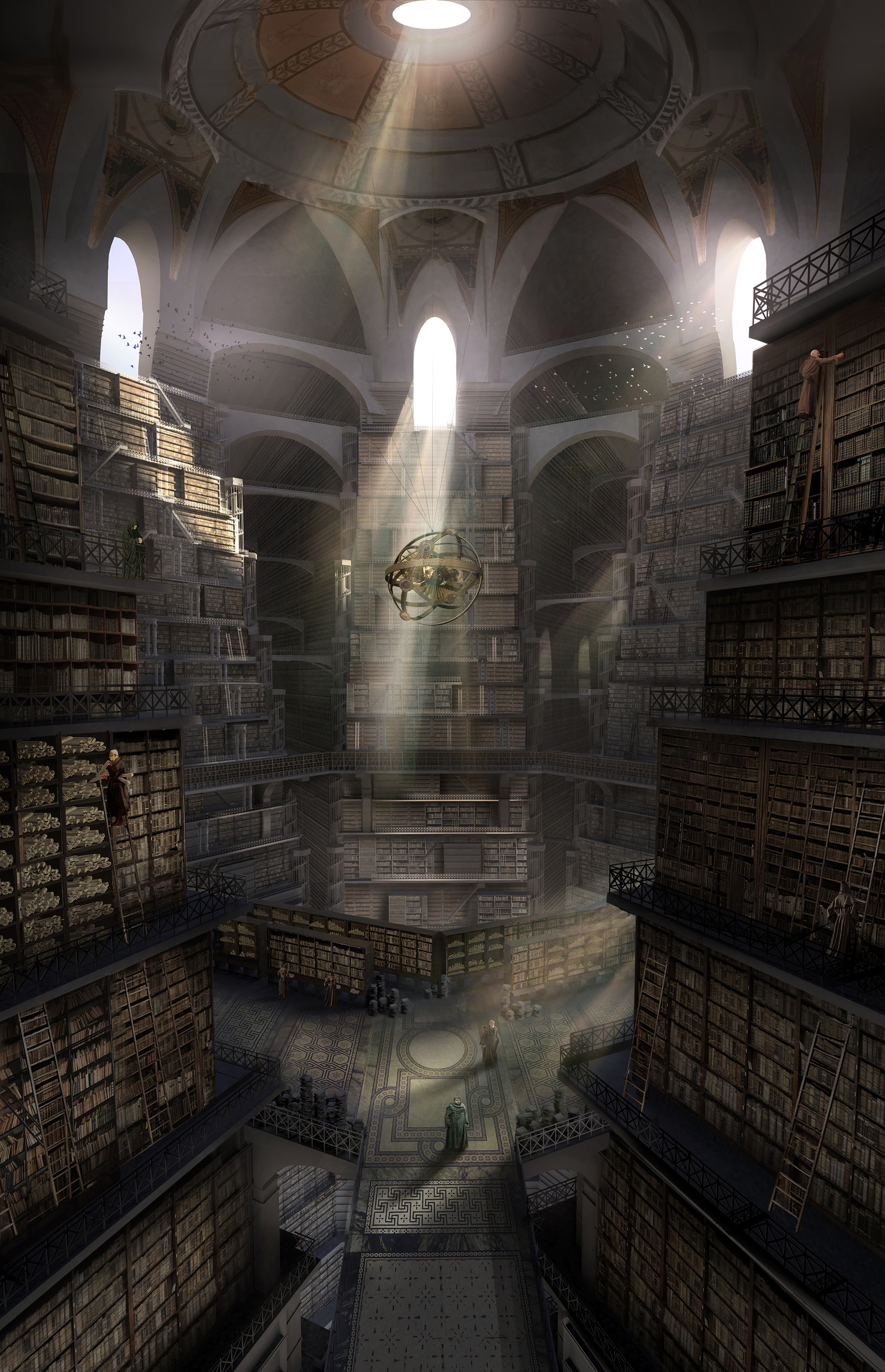 Leiden Arts In Society Blog Articles Exploring The Game Of Thrones Citadel S Library